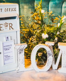 ERII Wedding Post Box for Hire