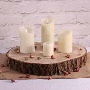 Log Slice Centrepiece
