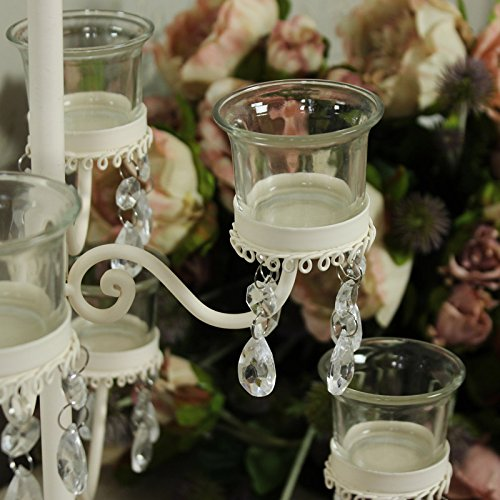 Vintage Cream Tea Light Candelabra Hire