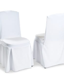 Pleated Wedding Chair Cover