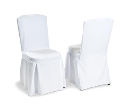 Pleated Wedding Chair Cover  sc 1 st  myweddinghire.com u2013 Wedding props u0026 decor & Fitted Chair Cover Hire u2013 myweddinghire.com