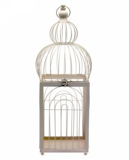 68cm Cream Bird Cage