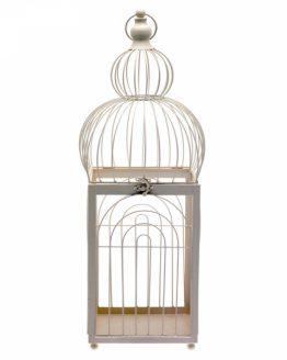 68cm Cream Bird Cage