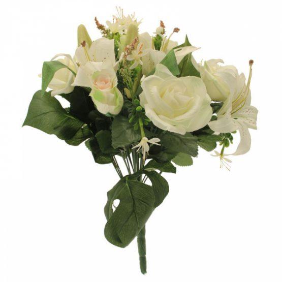 Cream Tiger Lily Rose2