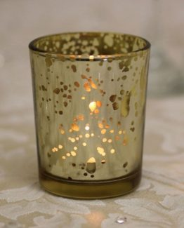 Gold Speckled Votive