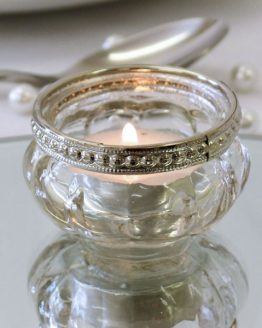 Ripple Tea Light Holder 3.5cm