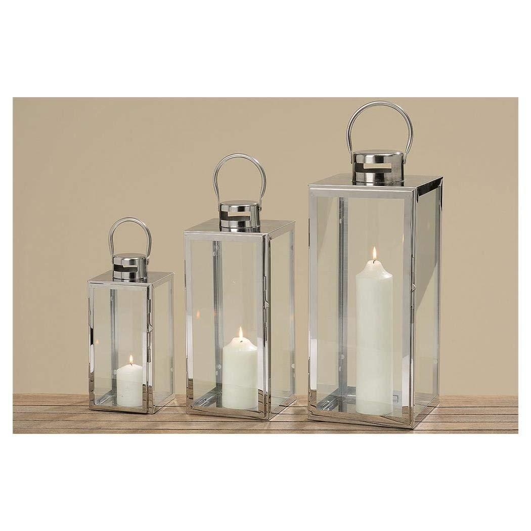 Set Of 3 Contemporary Lanterns