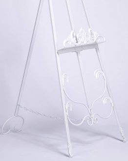 Freestanding Metal Easel Closeup