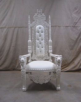 White Wedding Throne