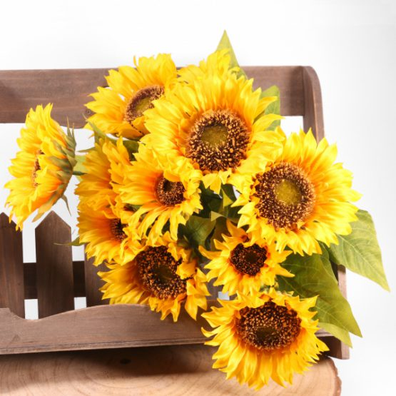 Sunflower Bunch40cm