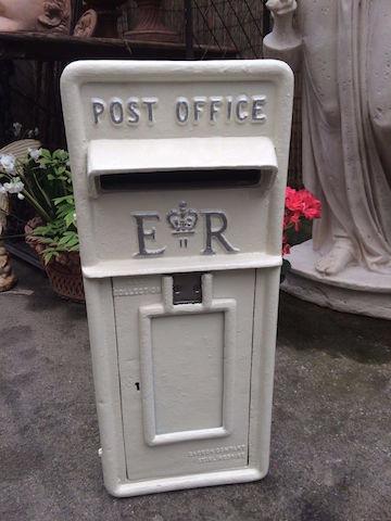 White ERII Post Box