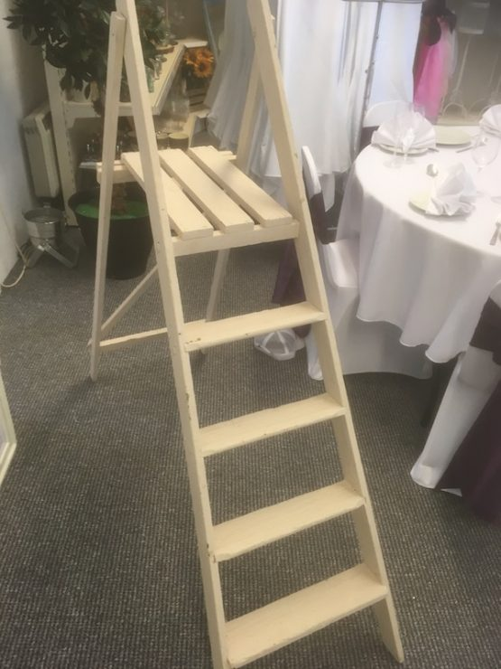 Country Cream Stepladder Hire