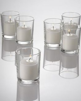Clear Votive Candle Holders for Hire