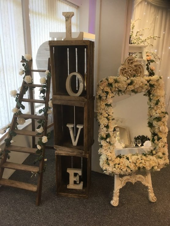 Rustic Wedding Crates For Hire