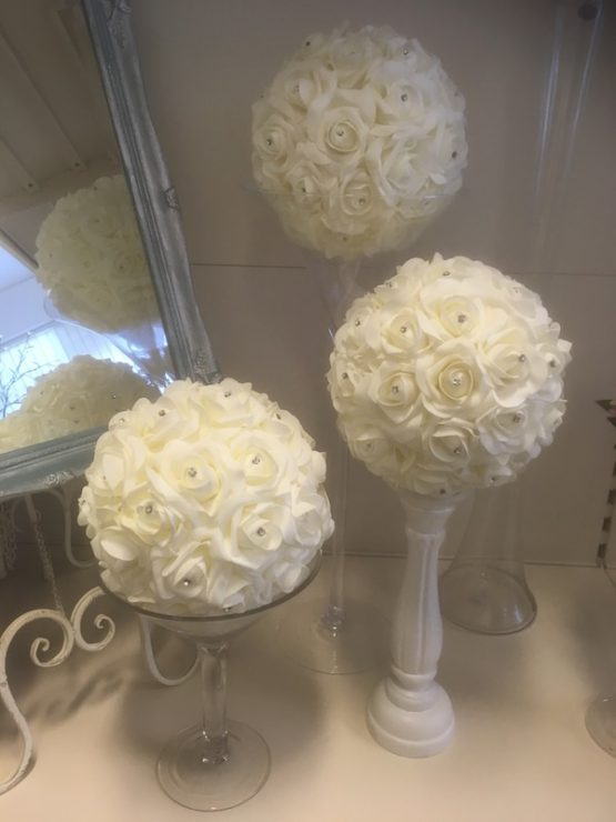 White Rose Ball for Hire