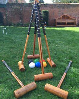 Croquet Set For 6 Hire