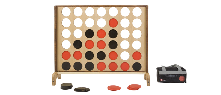 4 in a Row Giant Garden Game Hire