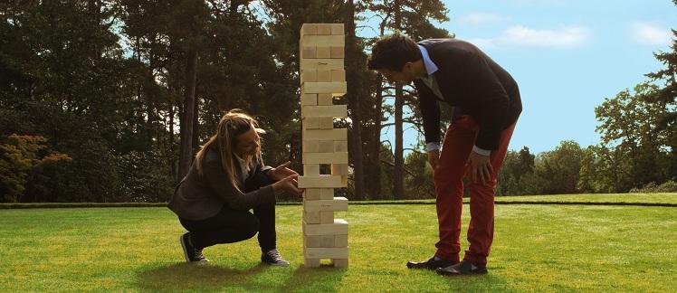 Giant Tumble Tower Games