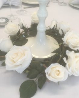 White Rose Garland Hire