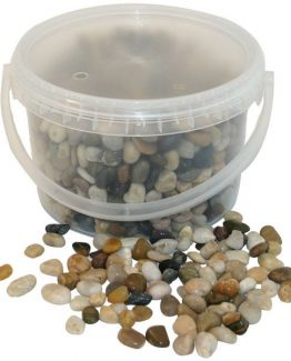 Mixed Natural Pebbles Hire