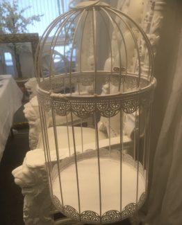Birdcage On Pedestal Hire