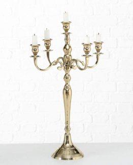 Gold 60cm Candelabra Hire