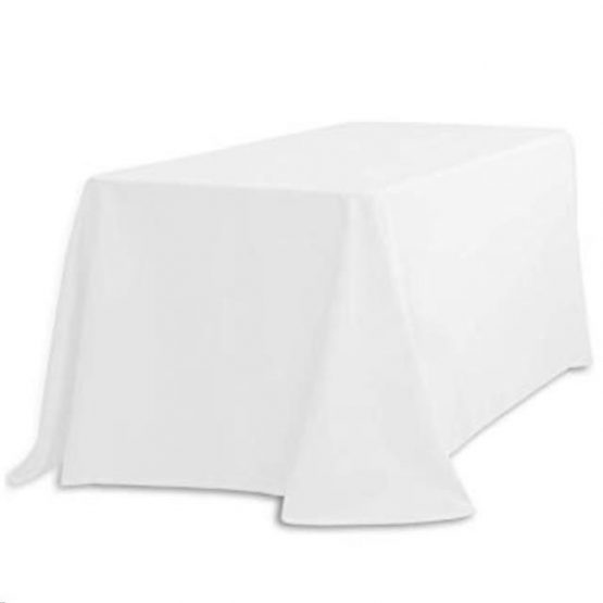 Rectangle Tablecloth Hire - Drop to Floor