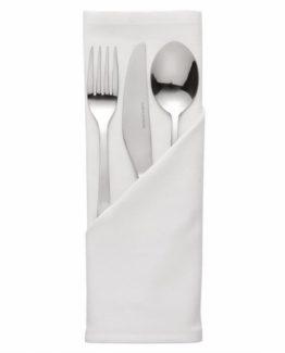 White cloth napkins for hire
